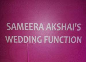 Sameera Reddy's Wedding