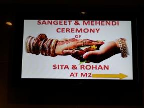 Sangeet and Mehendi Ceremony